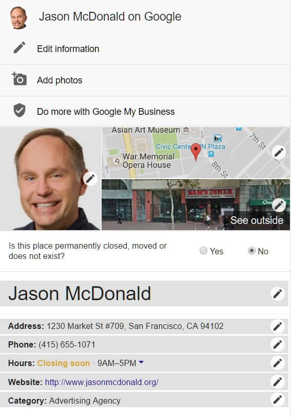 Changes to Google+ Local
